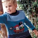modèle tricot pull oui-oui #14