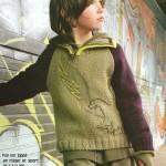 modèle tricot pull oui-oui #17