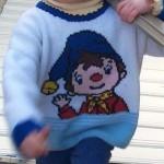 modèle tricot pull oui-oui #2