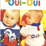 modèle tricot pull oui-oui #3
