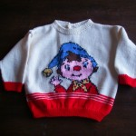 modèle tricot pull oui-oui #5