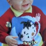 modèle tricot pull oui-oui #6