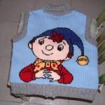 modèle tricot pull oui-oui #8