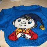 modèle tricot pull oui-oui #9