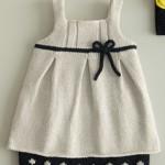 modèle tricot robe bébé #11