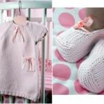modèle tricot robe bébé #13