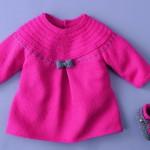 modèle tricot robe bébé #14