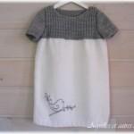 modèle tricot robe bébé #15