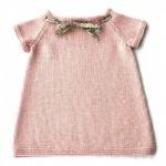 modèle tricot robe bébé #1