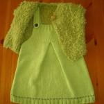 modèle tricot robe bébé #17