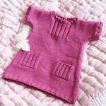 modèle tricot robe bébé #5