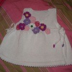 modèle tricot robe bébé #6