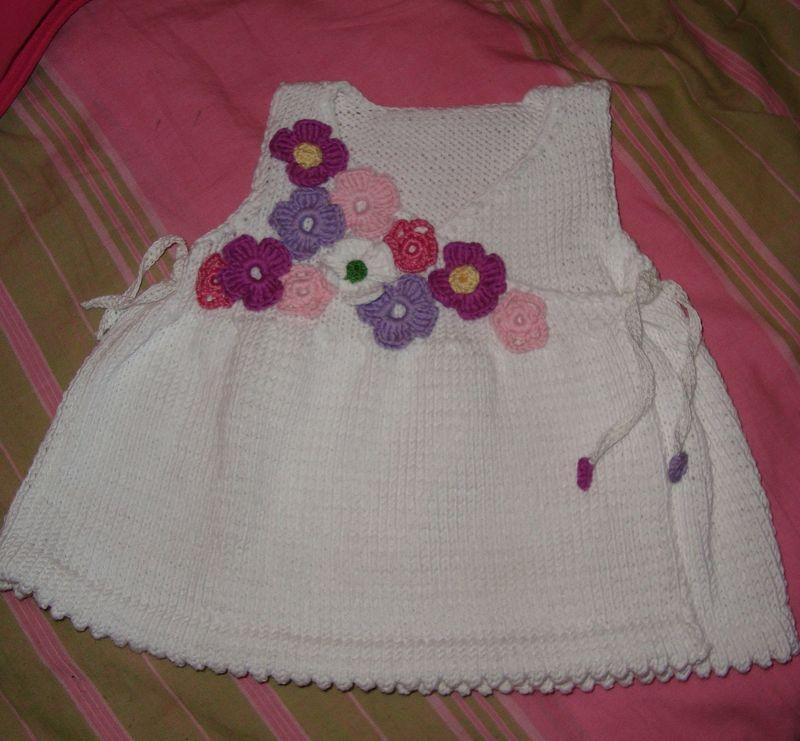 modèle robe bapteme tricot crochet