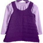 modèle tricot robe bébé #7