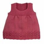 modèle tricot robe bébé #8