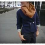 modèle tricot snood sarah #12