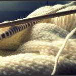 modèle tricot snood sarah #1