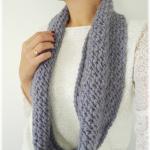 modèle tricot snood sarah #16