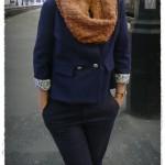 modèle tricot snood sarah #17