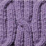 modèle tricot torsade nattée double #15