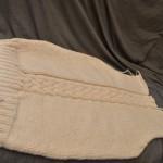 modèle tricot torsade nattée double #16