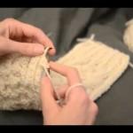 modèle tricot torsade nattée double #5
