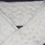 modèle tricot torsade nattée double #8