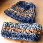 modèle tricot tour de cou bébé #11