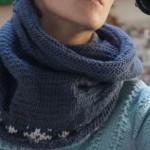modèle tricot tour de cou bébé #12