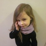 modèle tricot tour de cou bébé #14