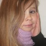 modèle tricot tour de cou bébé #15