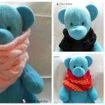 modèle tricot tour de cou bébé #18