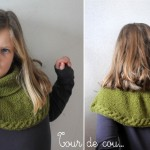 modèle tricot tour de cou bébé #2