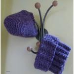 modèle tricot tour de cou bébé #5