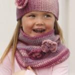 modèle tricot tour de cou bébé #6