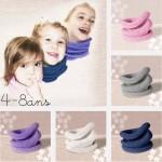 modèle tricot tour de cou bébé #7