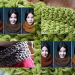 modèle tricot tour de cou bébé #9