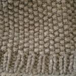 modèle tricoter point de riz un #11