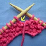 modèle tricoter point de riz un #12