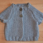 modèle tricoter point de riz un #14