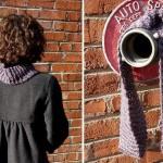modèle tricoter tour de cou rima #18