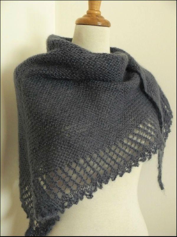 modele tricot echarpe chale. Black Bedroom Furniture Sets. Home Design Ideas