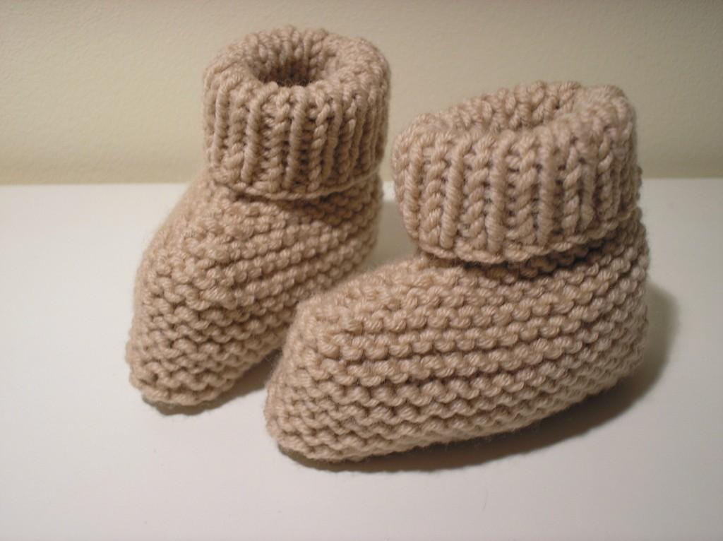 modèle tricot chausson adulte