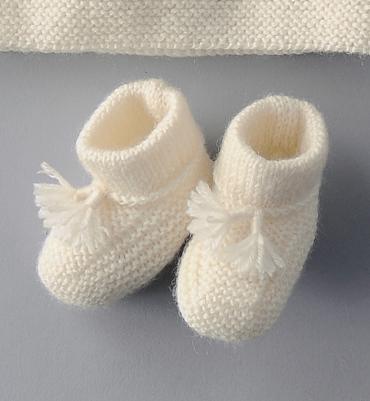 Modele chausson b b tricot facile gratuit 12 - Modele tricot bebe gratuit debutant ...