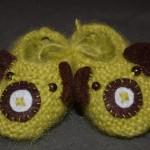 modele chausson bébé tricot facile gratuit #14