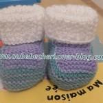 modele chausson bébé tricot facile gratuit #15
