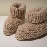 modele chausson bébé tricot facile gratuit #1