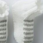 modele chausson bébé tricot facile gratuit #17