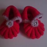 modele chausson bébé tricot facile gratuit #2