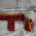modele chausson bébé tricot facile gratuit #5